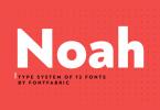 Noah Super Family [72 Fonts] | The Fonts Master