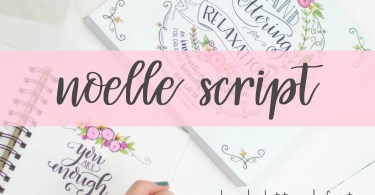 Noelle Script [3 Fonts] | The Fonts Master