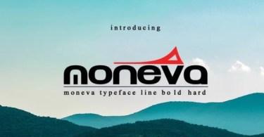 Moneva [1 Font]