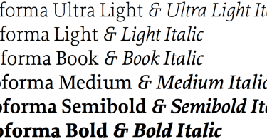 Proforma Super Family [24 Fonts]   The Fonts Master