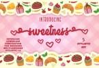 Sweetness [1 Font] | The Fonts Master