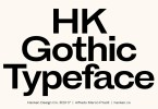 Hk Gothic [13 Fonts] | The Fonts Master