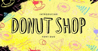 Donut Shop [2 Fonts] | The Fonts Master