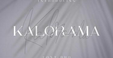 Kalorama [3 Fonts] | The Fonts Master