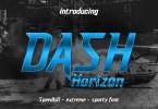 Dash Horizon [1 Font] | The Fonts Master