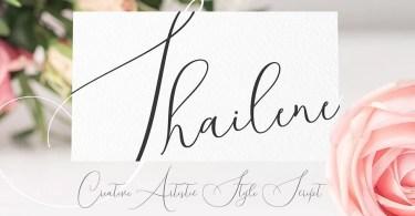 Shailene Script [1 Font] | The Fonts Master