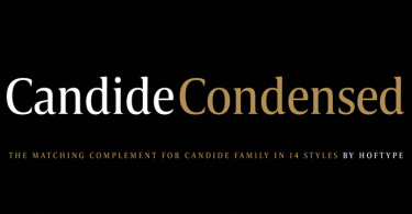 Candide Condensed Super Family [16 Fonts] | The Fonts Master