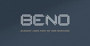 Bend [1 Font] | The Fonts Master