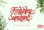 Ferishley Sunshine [1 Font] | The Fonts Master