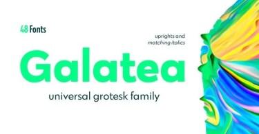 Galatea Super Family [48 Fonts] | The Fonts Master