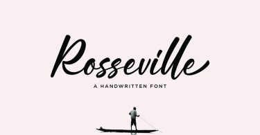 Rosseville [1 Font] | The Fonts Master