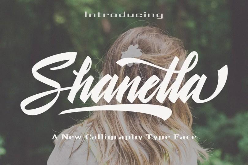 Shanella [1 Font]   The Fonts Master