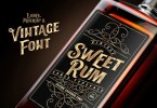 Sweet Rum [3 Fonts] | The Fonts Master