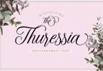 Thuressia Script [1 Font] | The Fonts Master
