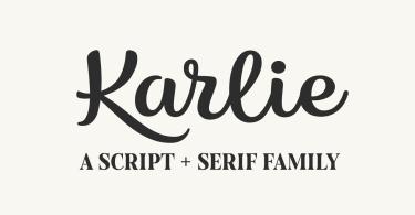 Karlie Super Family [8 Fonts] | The Fonts Master