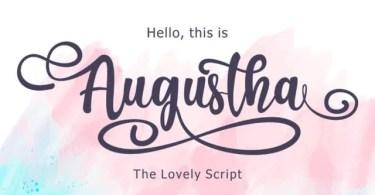 Augustha [1 Font]