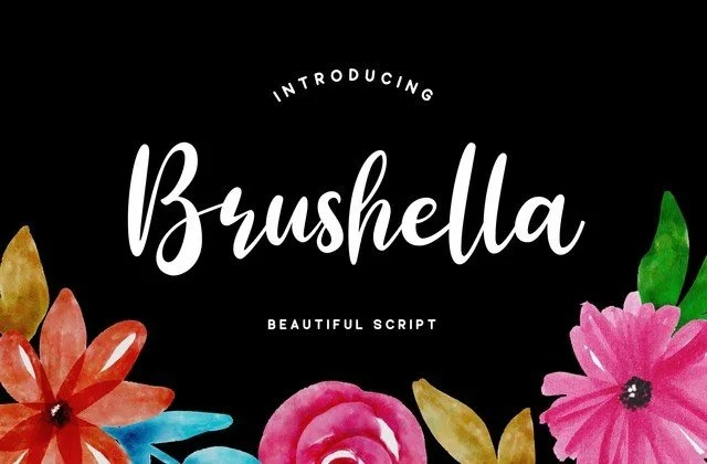 Brushella [1 Font] | The Fonts Master