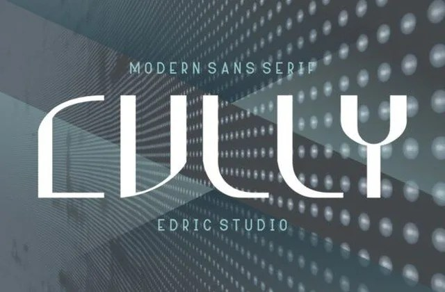 Cully [2 Fonts] | The Fonts Master