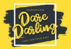 Dare Darling [1 Font] | The Fonts Master