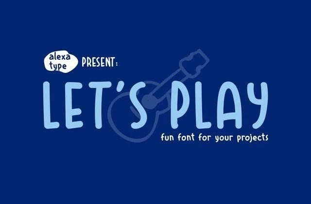 Let'S Play [1 Font] | The Fonts Master