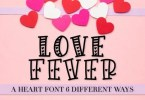 Love Fever [3 Fonts] | The Fonts Master