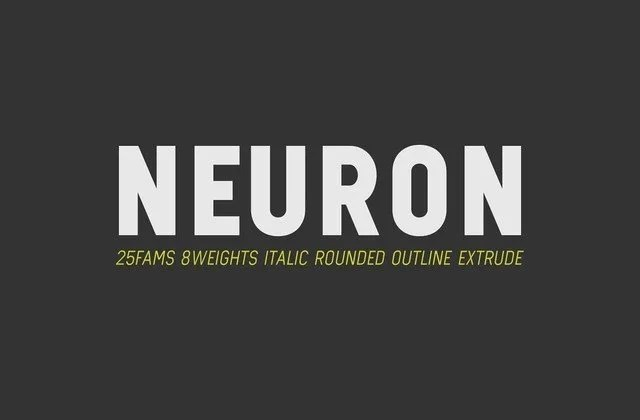 Neuron [25 Fonts] | The Fonts Master
