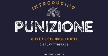 Punizione [2 Fonts] | The Fonts Master