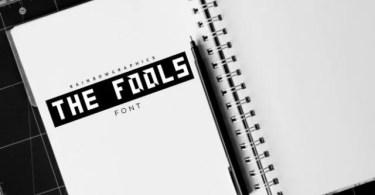 The Fools [1 Font]   The Fonts Master