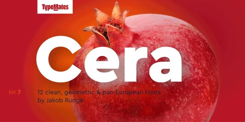 Cera Pro Super Family [12 Fonts]