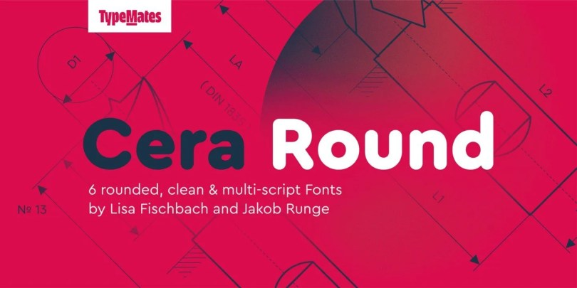 Cera Round Pro Super Family [6 Fonts] | The Fonts Master