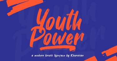Youth Power [1 Font] | The Fonts Master