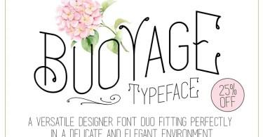 Buoayage [2 Fonts] | The Fonts Master