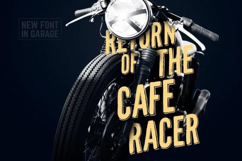 Cafe Racer [1 Font]   The Fonts Master