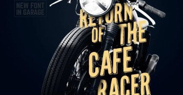 Cafe Racer [1 Font] | The Fonts Master