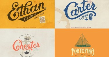 Brooks Brothers [3 Fonts] | The Fonts Master