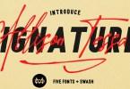 Allison Tessa [6 Fonts] | The Fonts Master