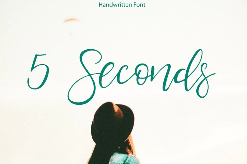 5 Seconds [1 Font]   The Fonts Master