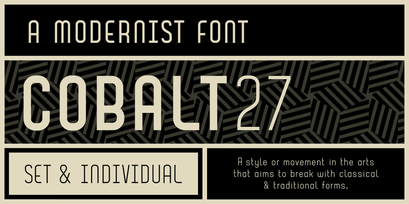 Cobalt 27 [4 Fonts] | The Fonts Master
