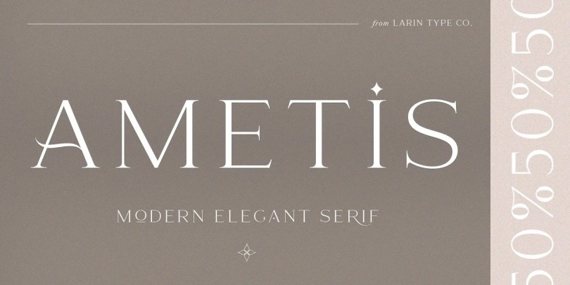 Ametis [1 Font] | The Fonts Master