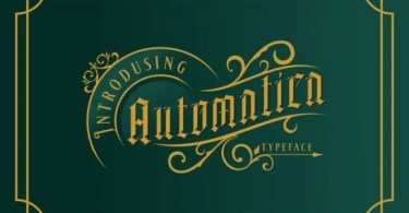 Automatica [1 Font] | The Fonts Master