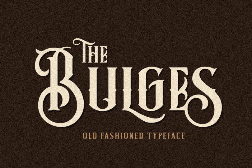 Bulges [3 Fonts] | The Fonts Master