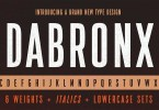 Da Bronx Sans [12 Fonts] | The Fonts Master