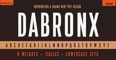 Da Bronx Sans [12 Fonts] | The Fonts Master