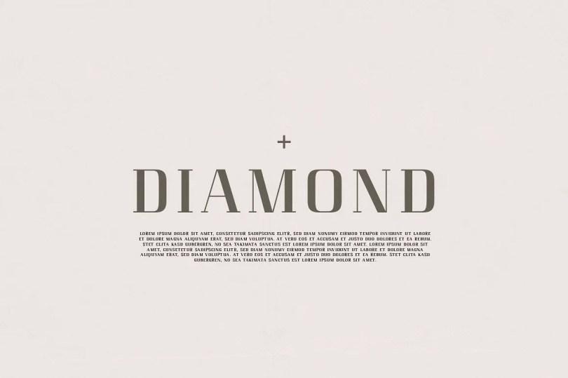 Diamond Luxury Serif [1 Font] | The Fonts Master