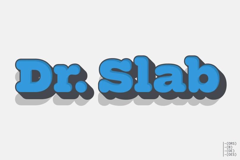 Dr Slab [13 Fonts] | The Fonts Master