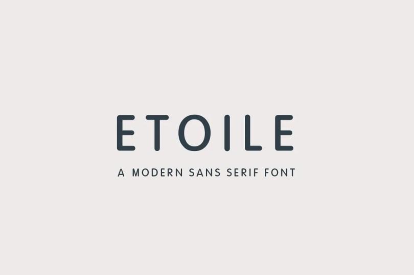 Etoile [1 Font]   The Fonts Master