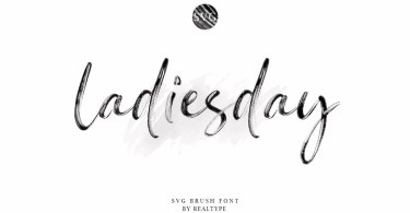 Ladiesday [1 Font] | The Fonts Master