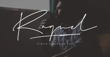 Raguel [2 Fonts] | The Fonts Master