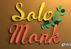 Solomonk [1 Font] | The Fonts Master