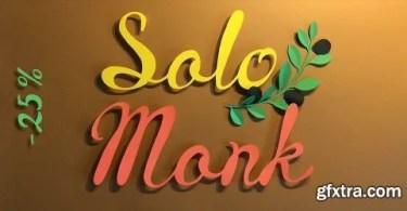 Solomonk [1 Font] | The Fonts Master